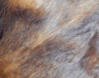 "Brown Faux Fur Craft 19.7"", Faux Fur Fabric Making Toy,  Newborn Photo Prop, Basket Stuffer, Teddy Fur fabric"