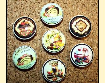 Vintage Dessert Cupboard Knobs, Drawer Pulls, Vintage Knobs