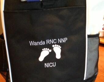 Nursing Gifts for Nursing Staff/ Embroidered Nursing Tote