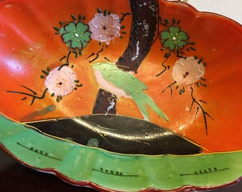 Vintage Mid Century Ceramic Candy Dish - Made in Japan