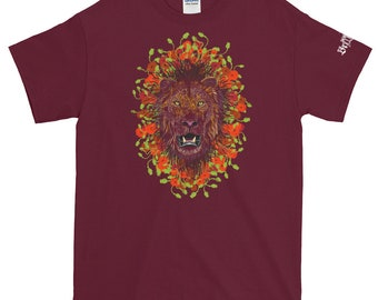Lion in Poppies Tee