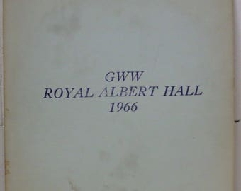 Bob Dylan LP GWW Royal Albert Hall 1966 TMOQ Yellow Vinyl