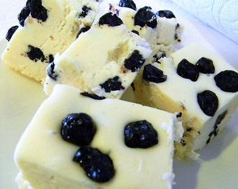 Julie's Fudge - BLUEBERRY Pomegranate - Half Pound