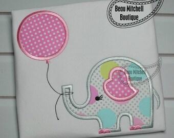 Elephant balloon applique