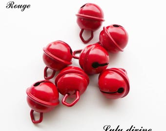 Bell 15 mm / 15 mm Bell: Red