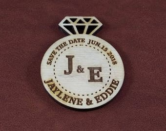 Save The Date Magnet - Custom Made