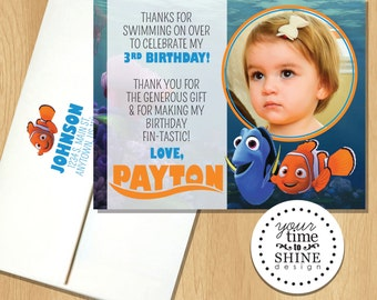 Finding Nemo - Thank You Flat Cards