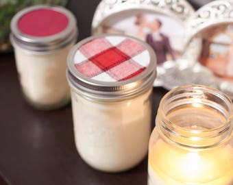 Apple Pie Scented Soy Candle