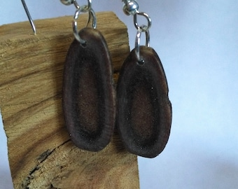 Earrings of Caribou Antler