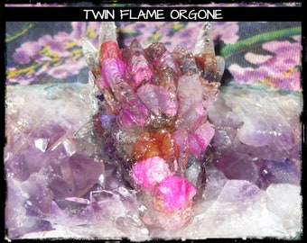 Crystal Dragon with Lahrimar, Pink Agate, Angelite, Lepidolite, Chalcedony, Clear Quartz, Rose Quartz, Amethyst & Selenite