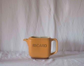 Pichet Ricard Français Vintage / français vintage / eau pichet Vintage pichet / français décor café Vintage objets de décoration