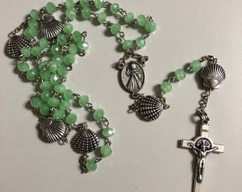 Sea Green Rosary