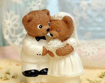 Wedding Bears 3D Silicone Mould