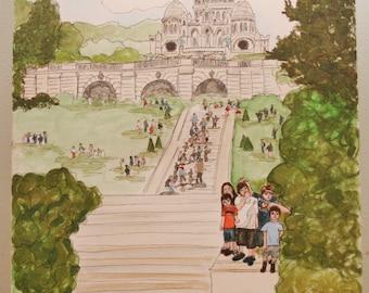 Family Fun Canvas Preserve your favorite memory