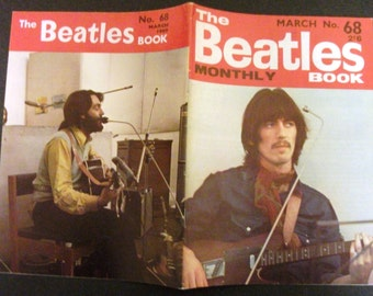 Original March  1969 The Beatles  Monthly Book#68