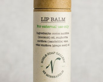 Lip Balm - Vegan - All Natural - Sustainable - Biodegradable