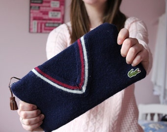 Custom Clutch Made from Your Sweater - Memory Purse