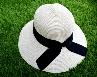 Black Tie Bow Hat