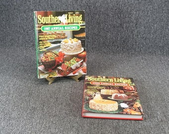 Set Of 2 Southern Living Recipe Books C. 1987 And 1988