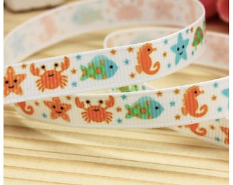 New! Cat and small dog Fun Fish Summer 3/8 Collar