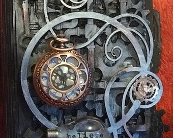 Steampunk Journal Cover