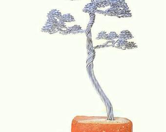 Wire Tree Sculpture, Wire Tree, Aluminium Sculpture, Metal Sculpture, Tree Sculpture, Home Decor, Wire Sculpture, Wire Art, Modern Sculpture