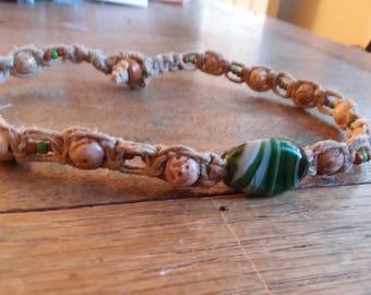Hemp necklace/Hemp choker/men's necklace/hippie necklace