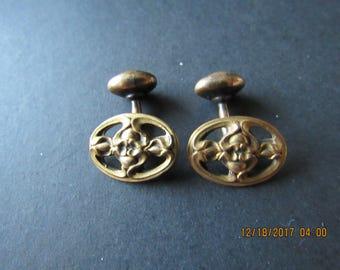 Antique Cufflinks, Art Nouveau style