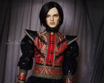 Alice's Royal Guard OOAK handmade dress set 70 boy llt Iplehouse EID Dollshe 28M SOOM Idealian clothing clothes historical renaissance