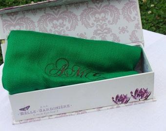 Personalized Pashmina Shawl In GIFT BOX, Birthday Holiday Women Gifts