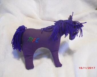 Cuddly, Purple Pony