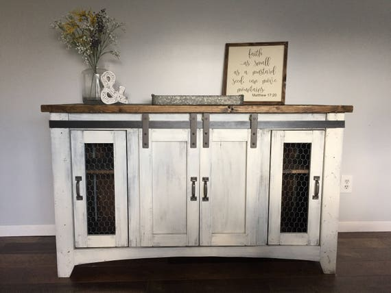 Rustic Tv Standfurnituremedia Console Wood