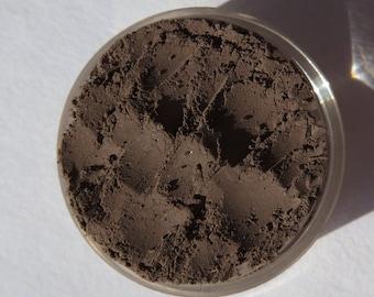 Matte Dark Brown Mineral Eyeshadow | Vegan Mineral Eye Shadow | Loose Mineral Powder Eyeliner - Country Roads