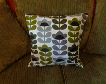 Cushion Cover Made In Orla Kiely Sweet Pea Cotton