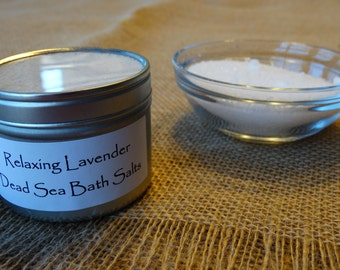 Soothing Dead Sea Bath Salts Soak