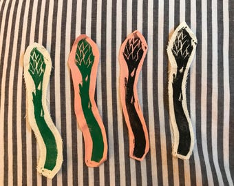 ASPARAGUS sew-on patch