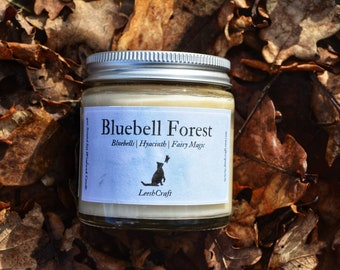 BLUEBELL FOREST - Floral scented candle, soy candle, Spring candle, Vegan candle, Natural gifts, Home gifts, Spring gifts, Geek Gifts