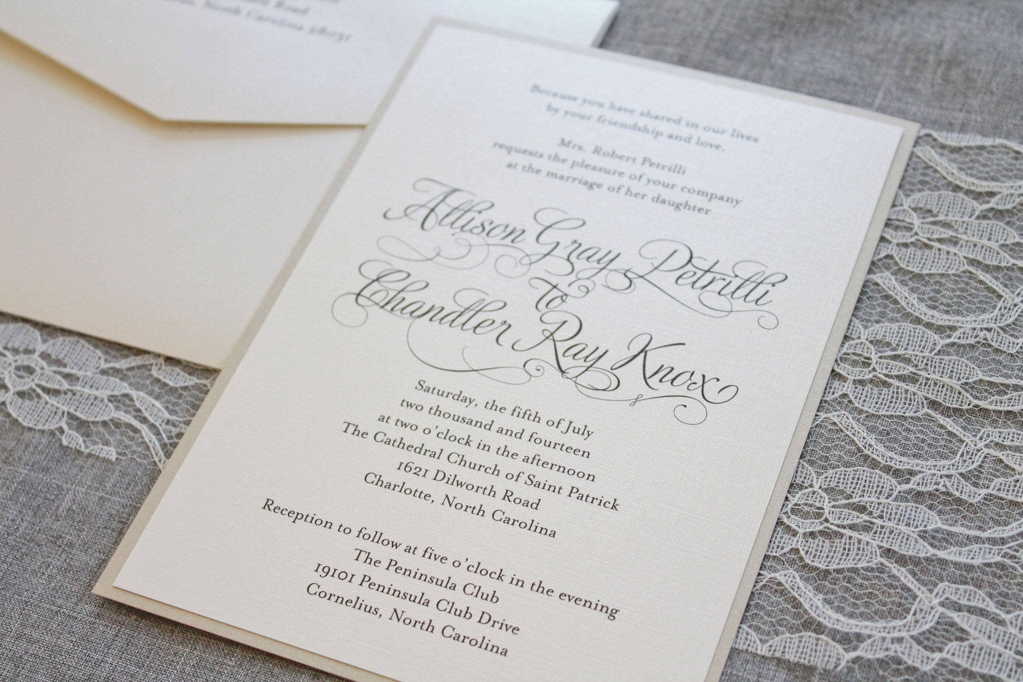 Timeless Ivory Gold Wedding With Scottish Traditions In: Ivory Wedding Invitations Gold Formal Wedding Ceremony