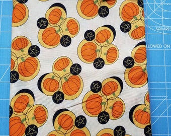 Pumpkins Gone Wild Fabric