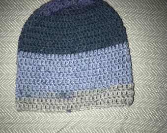 Crochet Beanie for Teen to Young Adult