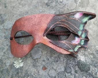 Moth Fairy Leather mask