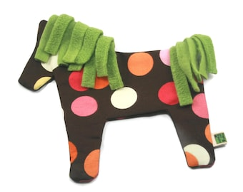 Dog Toy // No Stuffing No Squeaker  // Horse