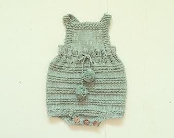 Billie baby Romper Suit - Knitting Pattern