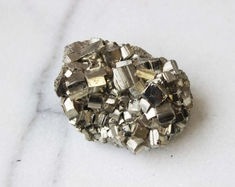Pyrite Crystal Cluster   #2