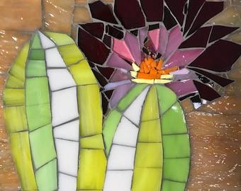 Cactus Bloom mosaic