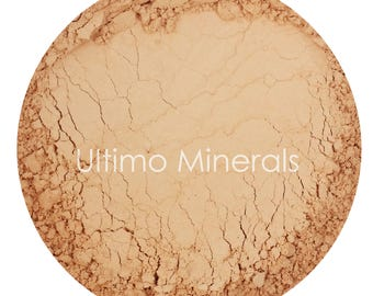 Ultimo Minerals HONEY MEDIUM 1Oz. Refill 30 grams Full-Coverage Mineral Foundation - Soft Pearlescent Finish - FREE Shipping!