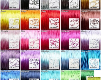 Cord / 2 mm polyester thread