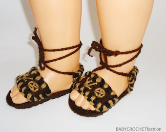 Baby Summer Shoes, Louis Vuitton Baby Shoes, Lous Vuitton Sandals, Baby Shoes, Crochet Sandals, Baby Sandals for summer, Baby Unisex Sandals
