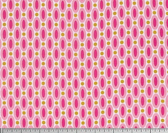 True Colors by Joel Dewberry for Free Spirit - Abacus - Pink - 1/2 Yard Cotton Quilt Fabric 916