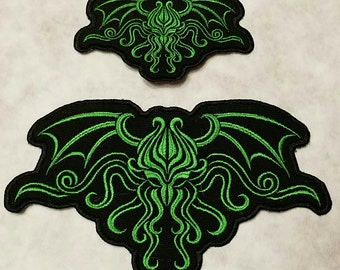 Cthulhu Embroidered Sew On Patch
